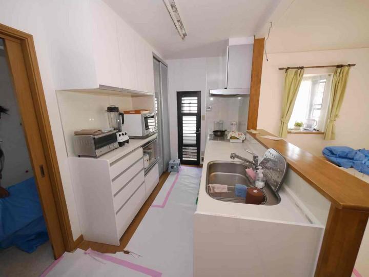 キッチンも使い勝手の良い最新モデルに変更しました。